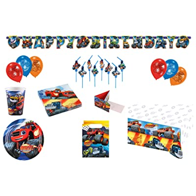 grand cadeau d'anniversaire pour célébrer les anniversaires Set enfants modèle Blaze Monster Machine