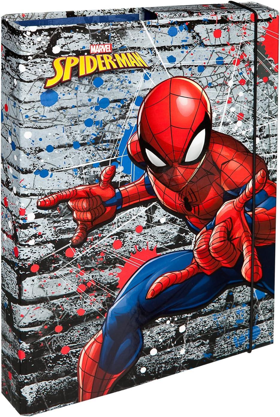 Undercover splo0940 Cuaderno Caja A4, Marvel Spider-Man: Amazon.es ...
