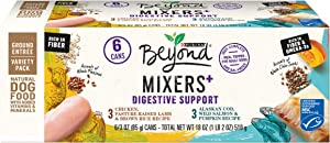 Purina Beyond Natural Wet Dog Food Complement Variety Pack, Digestive Support - (3 Packs of 6) 3 oz. Cans