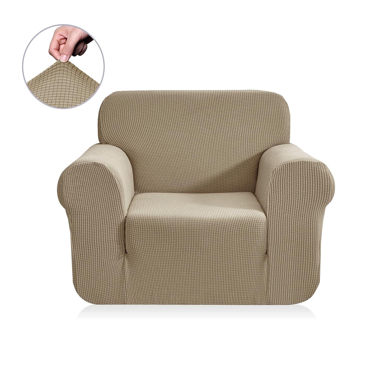 (チュンイ)Chun Yi ジャカードソファーカバー 1枚 ポリエステルスパンデックス生地 Chair ベージュ L3-K7IP-2NQ8 B07BVCGQZD Chair|サンド サンド Chair