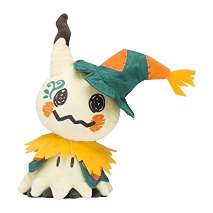 pokemon center 10 inch mimikyu pokemon halloween time stuffed plush doll