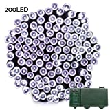 Amazon Price History for:Lalapao Battery Operated 200 LED String Lights with Automatic Timer Fairy Christmas Lighting Decor for Outdoor Indoor Xmas Tree Garden Patio Lawn Outside Home Party Landscape Decorative (White)
