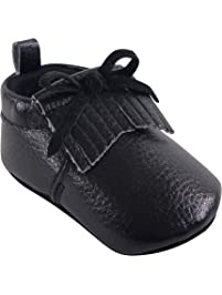 Hudson Baby Baby-Girls Moccasin Booties Moccasin