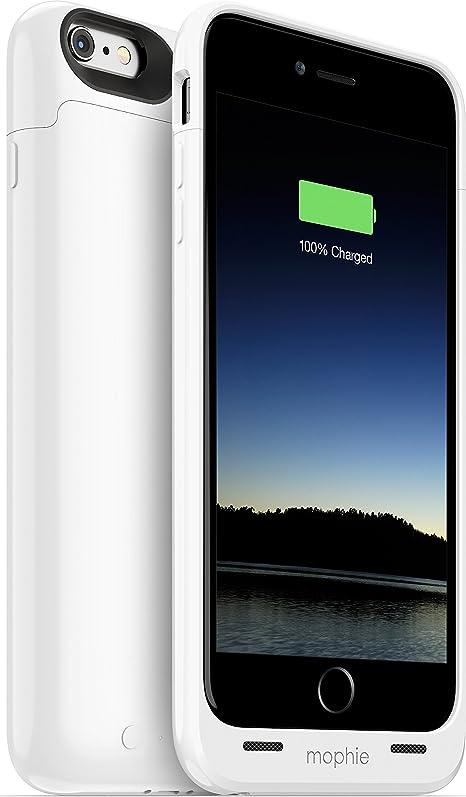 Mophie Juice Pack - Carcasa con batería para Apple iPhone 6 Plus, 2600 mAh, color blanco: Amazon.es: Electrónica