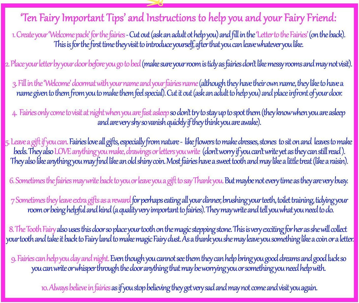 Porta delle Fate dei Fiori Believe You Can Fair Trade Fairies