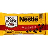 Nestle Toll House Real Semi-Sweet Chocolate Morsels, 12 Ounce