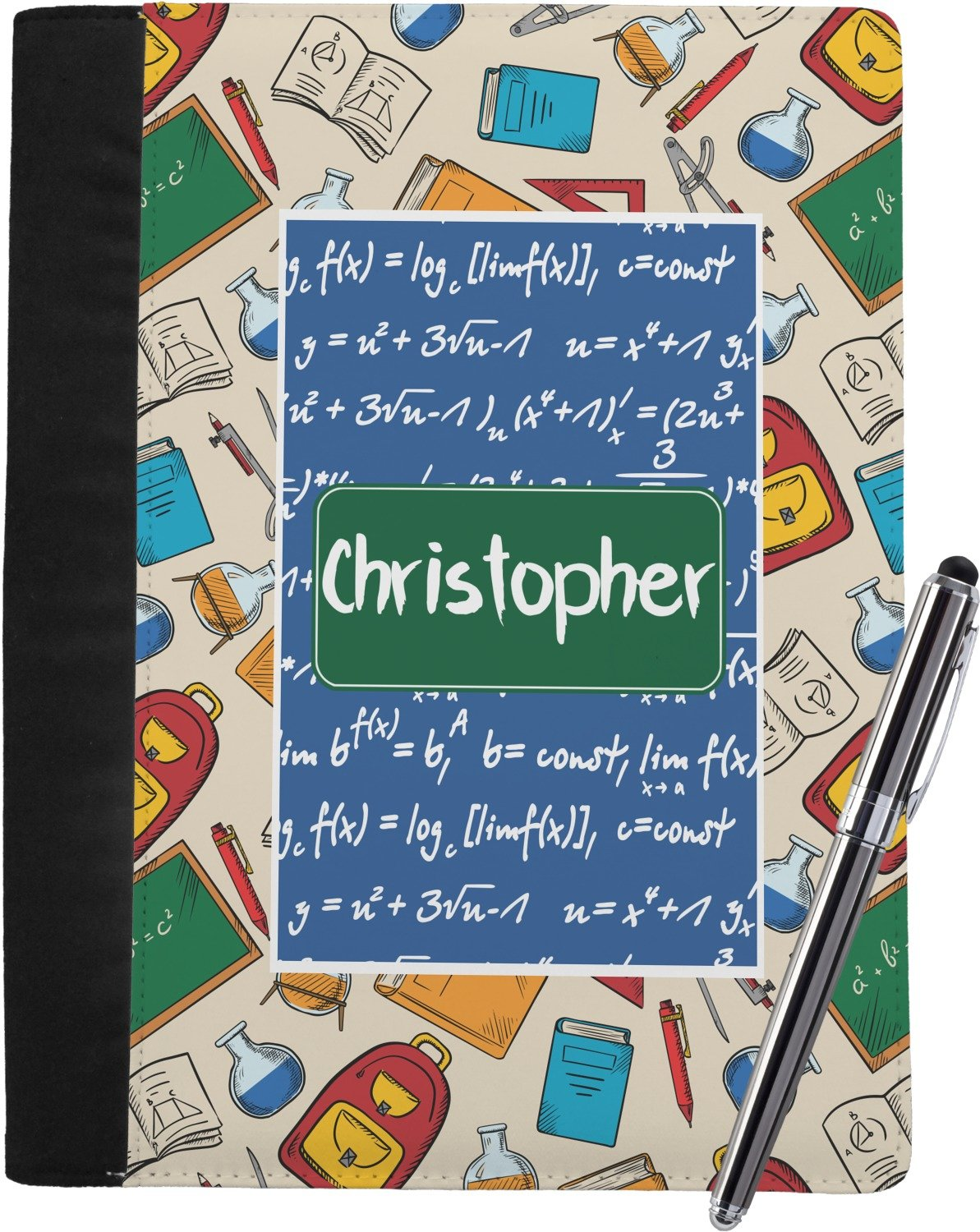 Math Lesson Notebook Padfolio (Personalized)