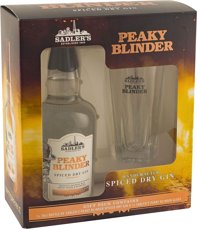 Peaky Blinder Gin Gift Set with Peaky Blinder Glass, 70 cl: Amazon.es: Alimentación y bebidas
