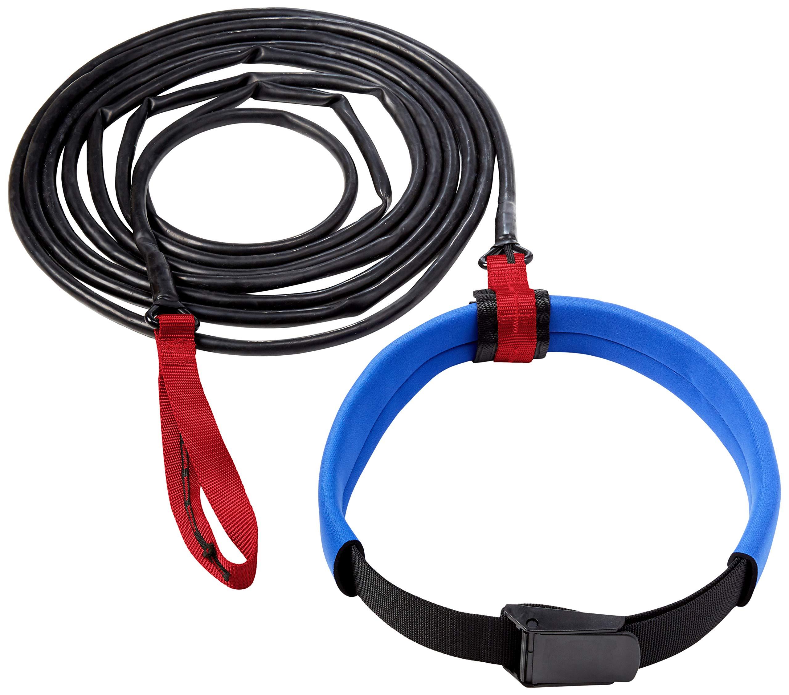 StretchCordz Long Belt Slider, Red Strap Handle