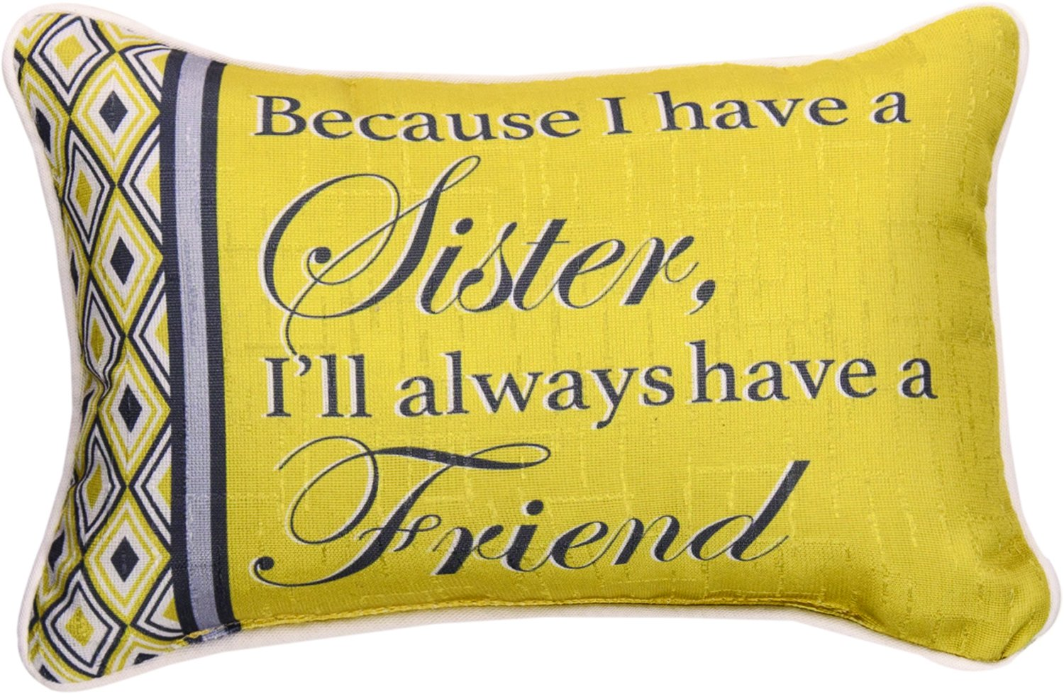 Manual Woodworker and Weavers Because Sister.Best Friend Word Pillow