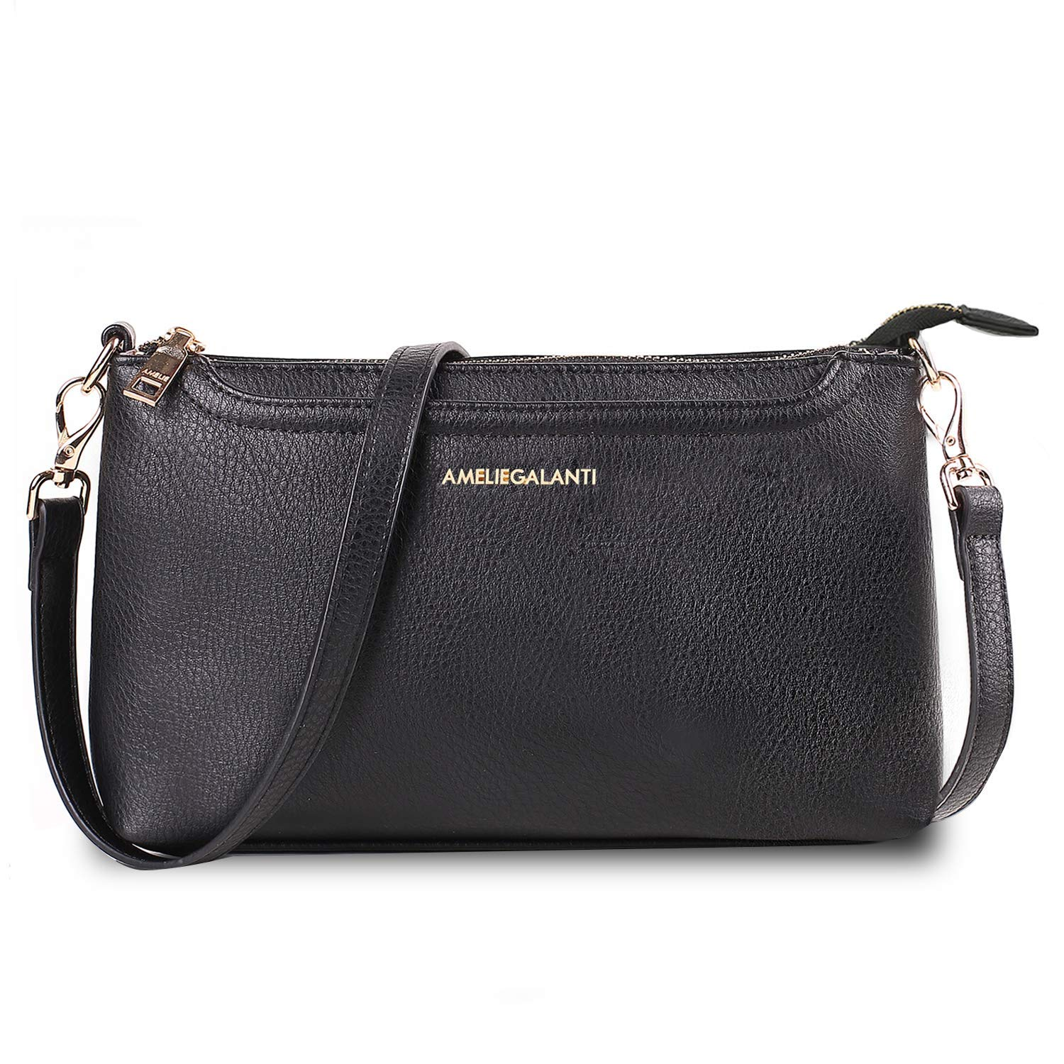 Crossbody Bags for Women, Lightweight Purses and Handbags PU Leather Small Shoulder Bag Satchel with Adjustable Strap