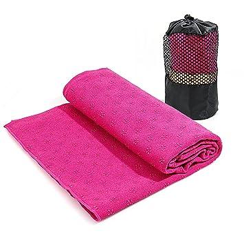 Tamaño toalla de Yoga toallas de Yoga caliente, antideslizante, perfecta para mat – ideal