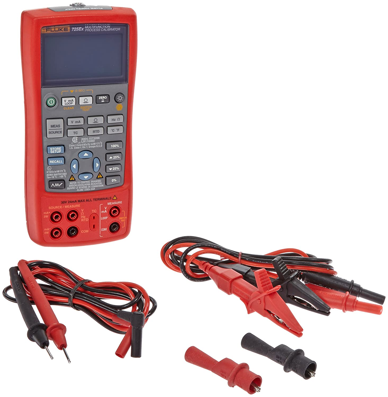 Fluke 725EX Intrinsically Safe Multi Function Process Calibrator
