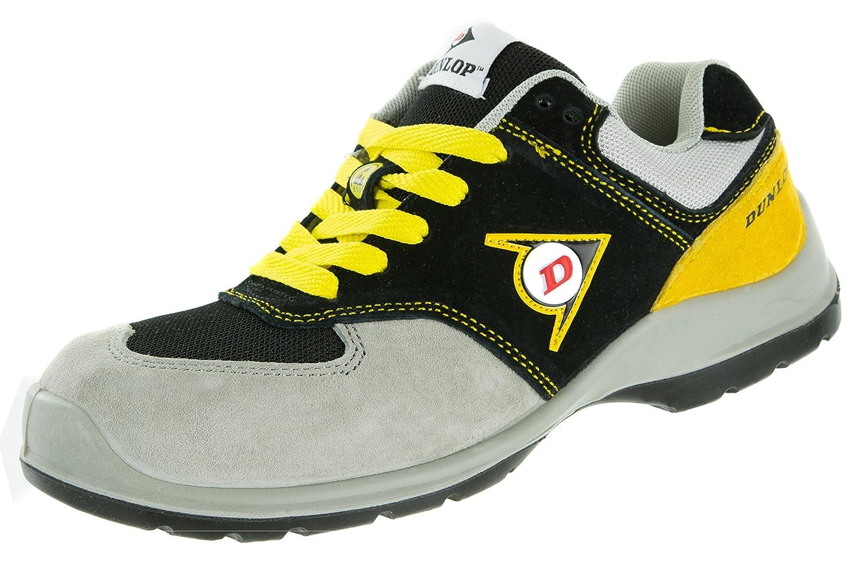Dunlop   Flying Arrow   Chaussure Chaussures de de Sécurité   Chaussures de Travail S3   avec Embout   Légères & Respirantes   Baskets de Protection de Travail Gris/ Noir/ Jaune 5064471 - robotanarchy.space