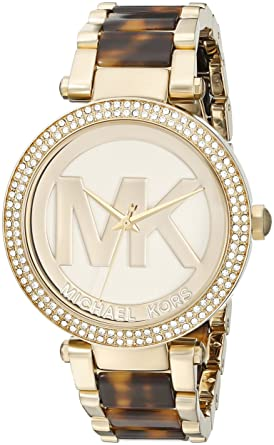 Amazon.com  Michael Kors Women s Parker Brown Watch MK6109  Michael Kors   Watches b1634de7a8