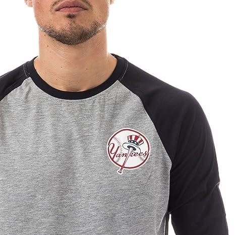 A NEW ERA Era Ne96422Fa16 MLB Raglan tee Neyyan - Camiseta Manga Larga-Línea  York Yankees para Hombre fa20e4ca90a
