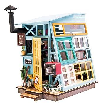 Diy Haus Bausatz Basteln Miniatur Puppenhaus Dekoration Kreative