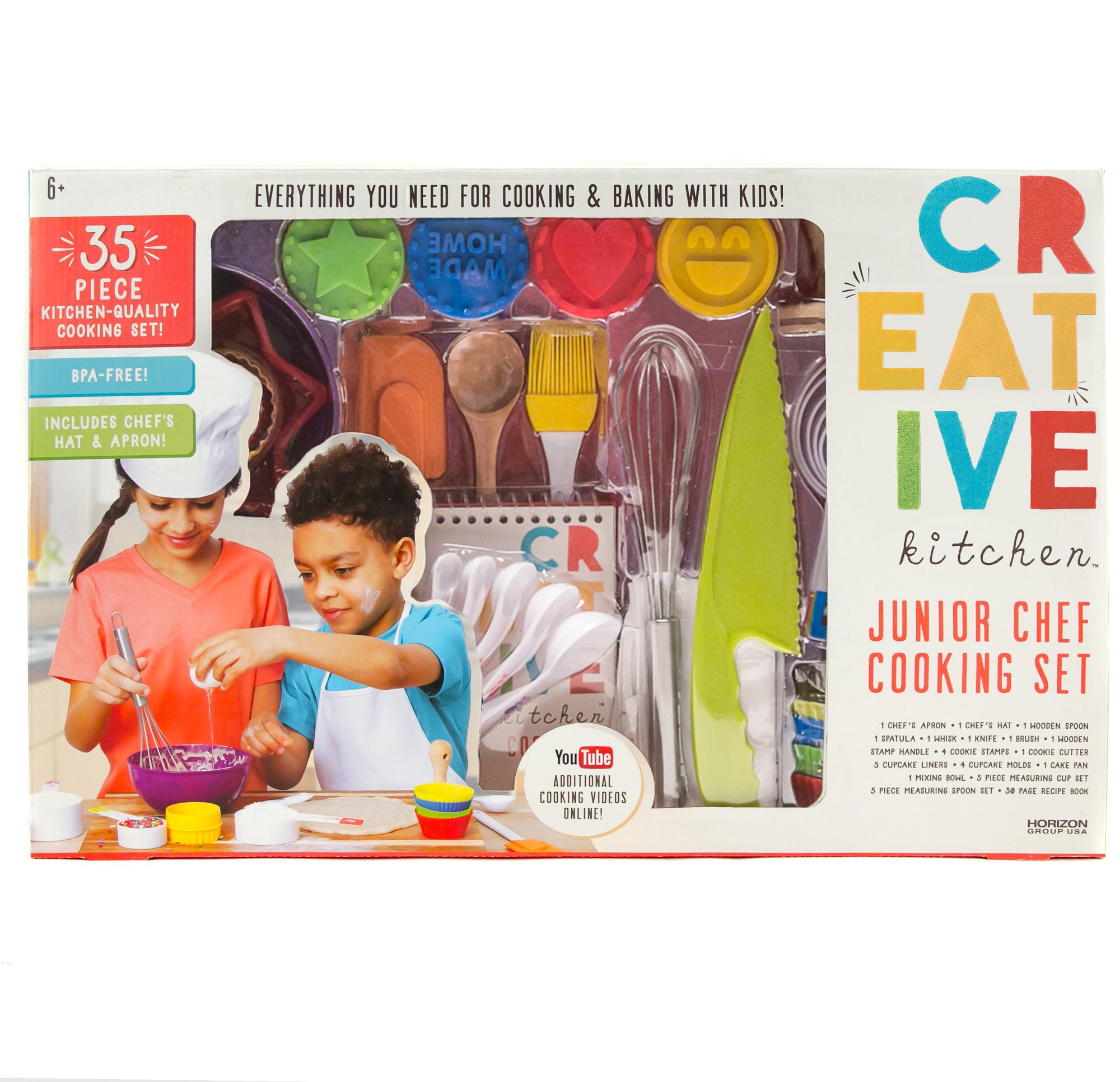 CrEATive Kitchen Junior Chef Set by Horizon Group USA by CrEATive Kitchen