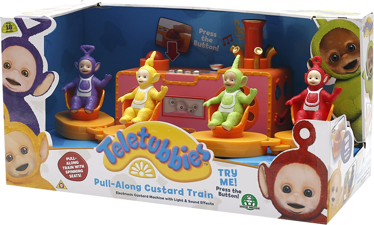 Teletubbies/TLB06000 Pull-Along Custard Ride with Lights and Sounds