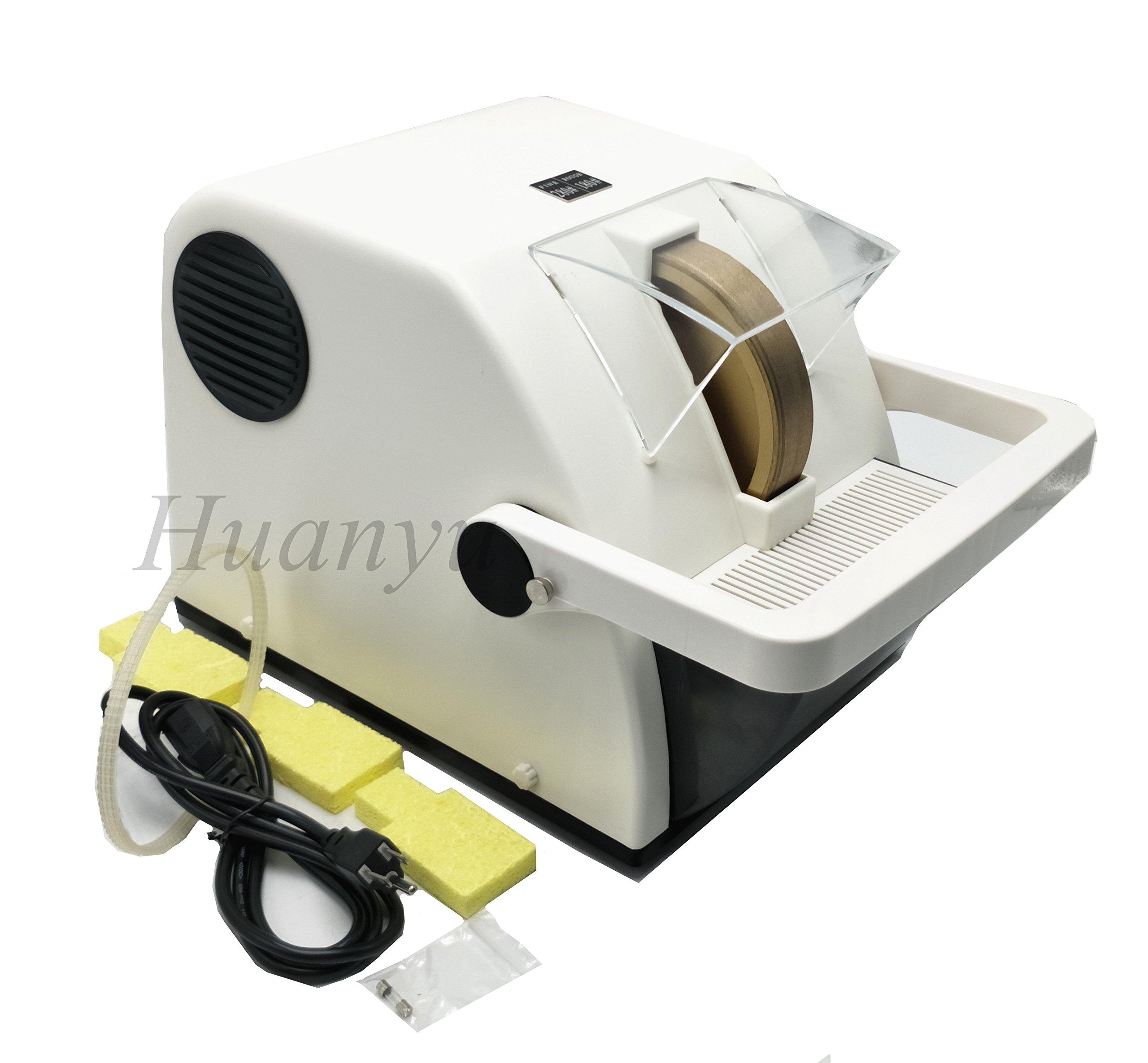 Huanyu Instrument LY-150 Single Wheel Optical Lens Hand Edger Manual Lens Grinder (110V/60Hz) by Huanyu Instrument® (Image #3)