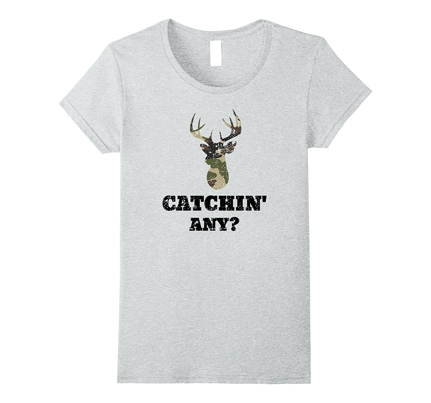 Catchin Hilarious Hunting T Shirt Large-Colonhue