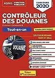 Concours Contrôleur des douanes - Catégorie B - Tout-en-un - DGDDI - Concours 2020