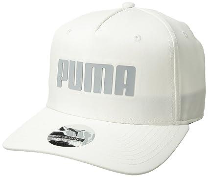 da0f083ab37 Amazon.com   Puma Golf 2018 Kid s Go Time Snapback Hat (Bright White ...