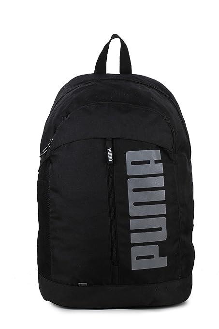 f6c203cbb707e Puma Puma Black Laptop Backpack (7566301)  Amazon.in  Bags