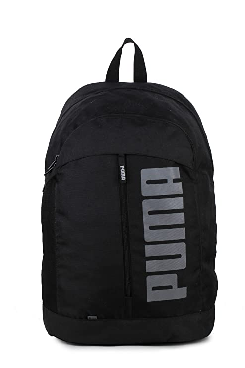 61a628a36891 Puma Black Laptop Backpack (7566301)  Amazon.in  Bags