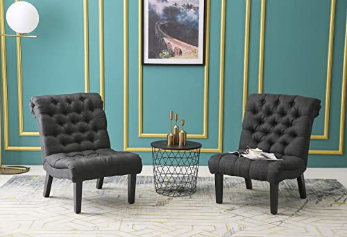 Haobo Armless Accent Chairs