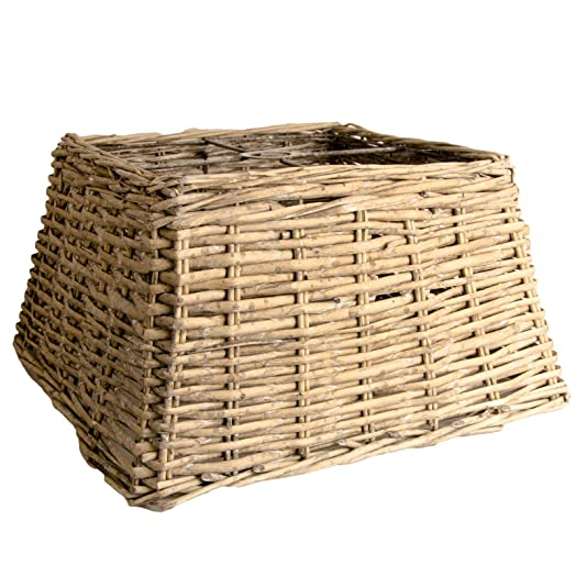 Country square wicker lampshade ceiling lamp shade basket grey country square wicker lampshade ceiling lamp shade basket grey washed grey washed x aloadofball Gallery