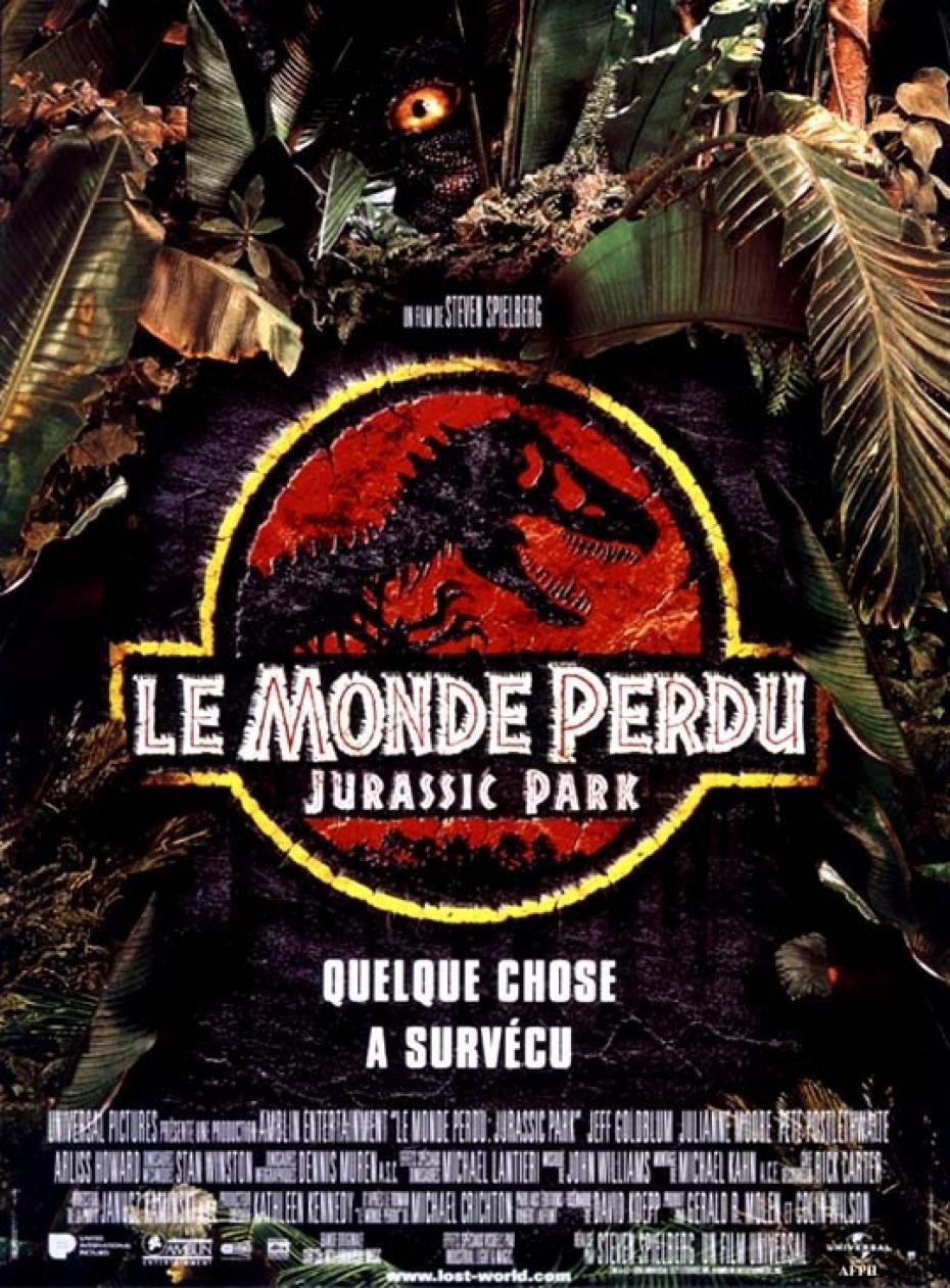 Póster del cine flexible grande perdido el mundo: Jurassic ...