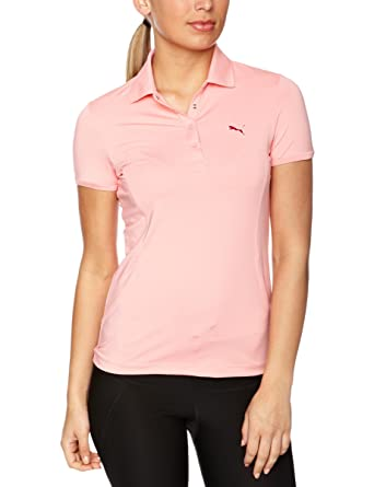 Nike Puma - Polo de Golf para Mujer, tamaño 8 UK, Color Rosa ...