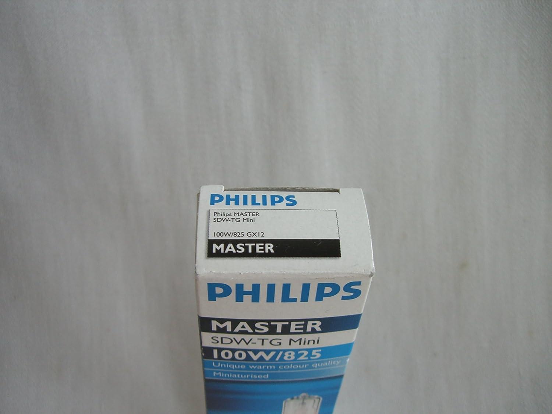 Philips SDW-TG GX12-1 Lampe /à vapeur de sodium haute pression Couleur 825 MASTER MINI 100 W