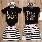Baby Girls Family Matching Clothing Set Little Big