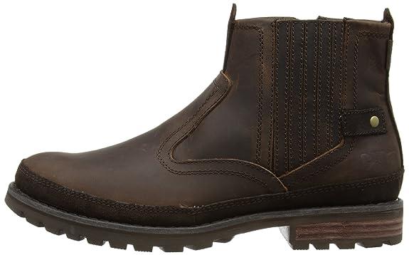 Good Practical Mens Skechers Brown Leather 'Blaine Orson