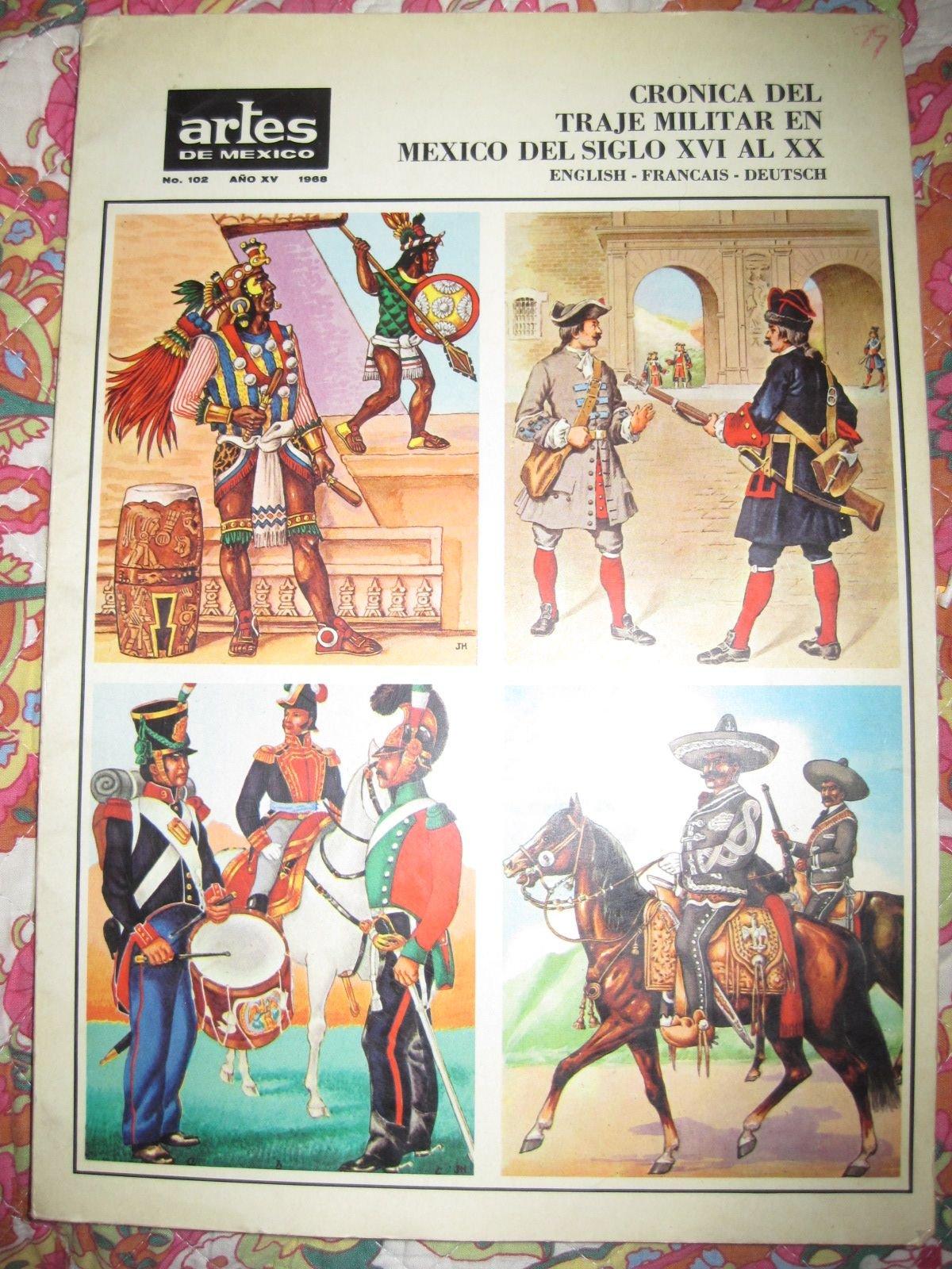 CRONICA DEL TRAJE MILITAR EN MEXICO. Del siglo XVI al XX. En ...
