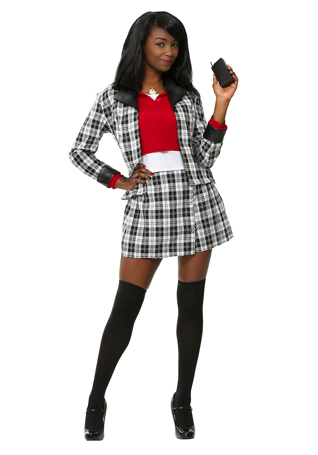 Clueless Dee Plus Size Womens Fancy dress costume 2X