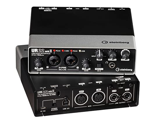 6 opinioni per Steinberg UR22 MKII Interfaccia Audio USB