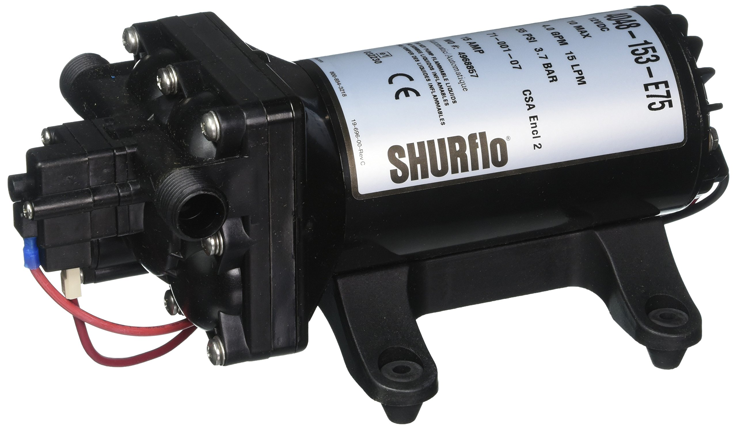 Shurflo 4048153E75 Electric Water Pump by SHURFLO