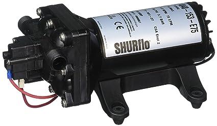 amazon com shurflo 4048153e75 electric water pump automotive rh amazon com