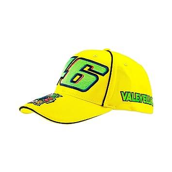 VR46 Valentino Rossi 46 cap Men Vale Cap Yellow One Size  Amazon.co ... b60a4f591eb