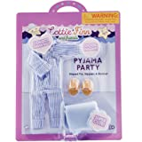 Lottie Pyjama Party | Slumber Party Doll Pajamas | Bedtime Doll Clothes | Bedtime Doll Accessories