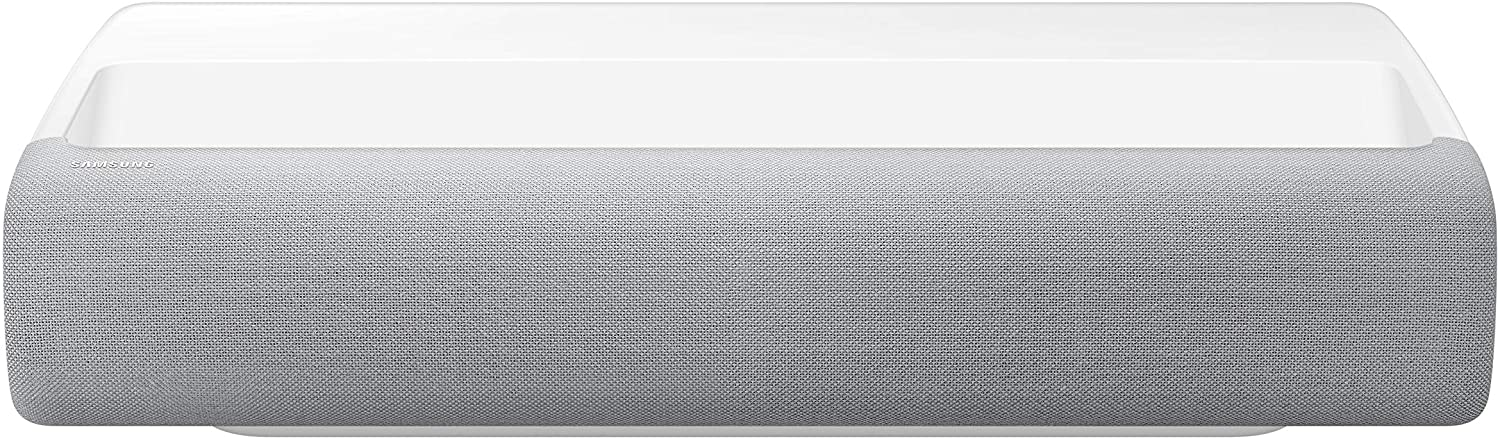 """SAMSUNG 120"""" The Premiere Projector - 4K UHD Smart TV 2.2Ch Sound System with Alexa Built-in (SP-LSP7TFAXZA, 2020 Model)"""