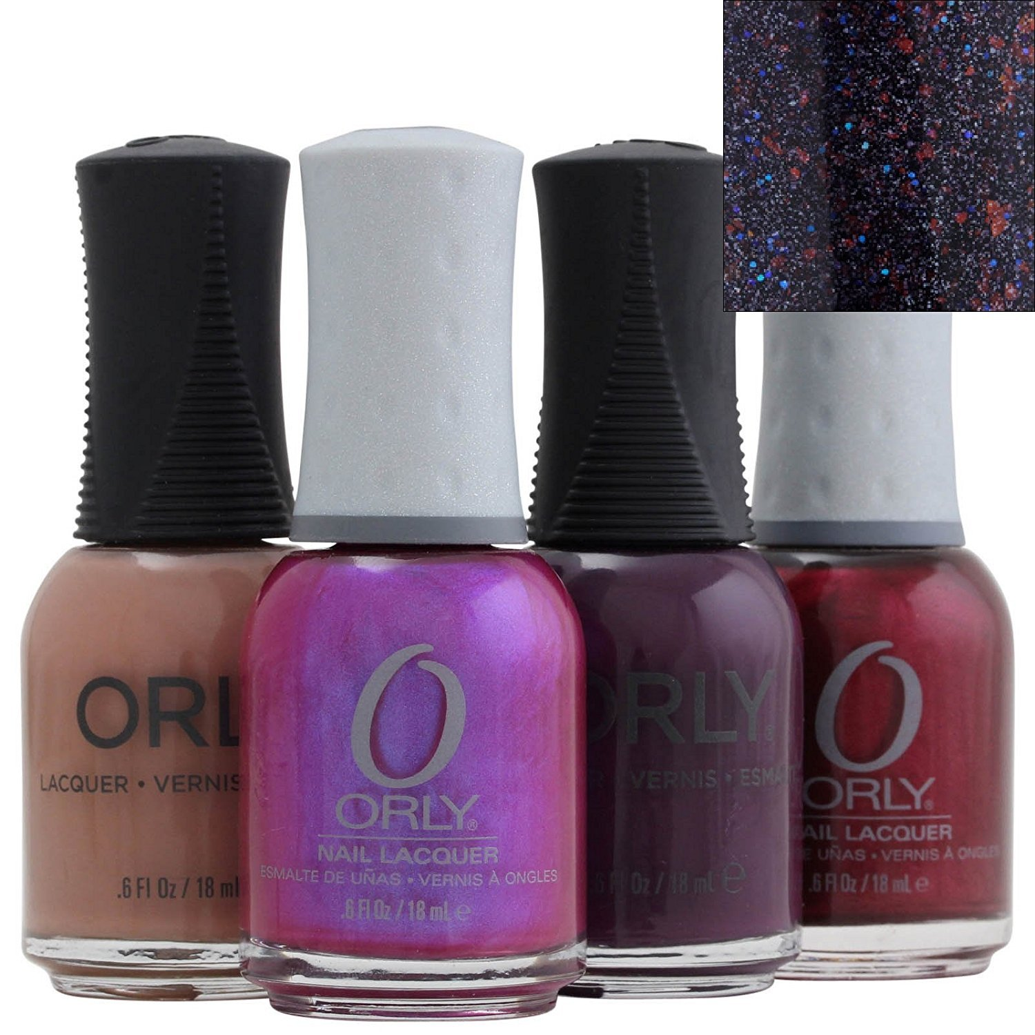 Amazon.com : Orly Nail Lacquer, Fowl Play, 0.6 Fluid Ounce : Nail ...