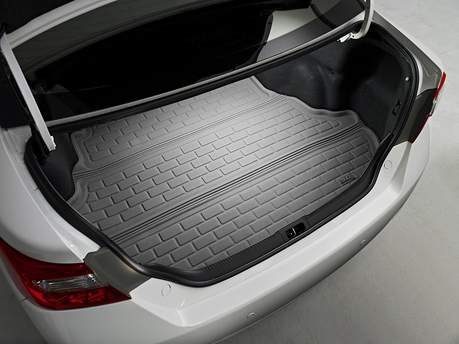 3D MAXpider Custom Fit All-Weather Cargo Liner for Select Audi Q5 Models M1AD0131302 Tan Kagu Rubber