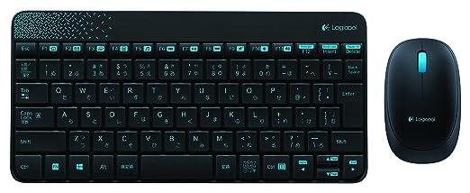 LOGICOOL ワイヤレスコンボ mk240 ブラック MK240BK