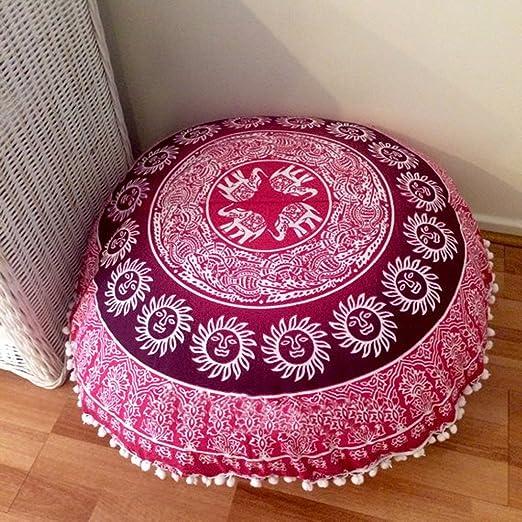 ganesham handicrafts- indio Mandala almohada manta ...