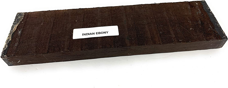 7 7//8 x 1 9//16 x 9//16 Inches Indian Ebony Guitar Bridge Blanks Classical