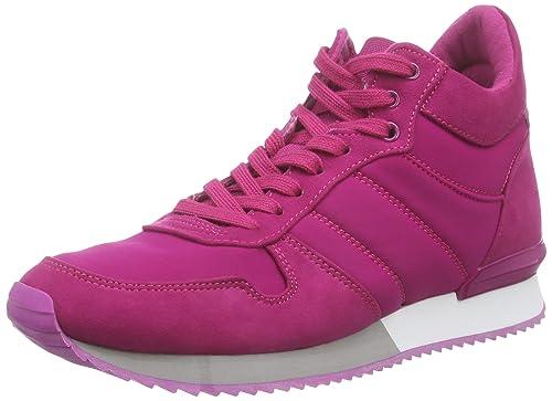 Aldo Meggy - Zapatillas de Material Sintético para Mujer Rosa Pink (Fushia 53) 36: Amazon.es: Zapatos y complementos